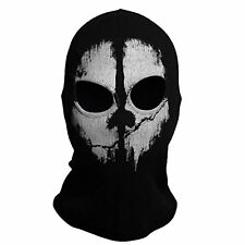 Call of Duty 10 COD Ghost Balaclava Logan Face Mask Hood Biker #9