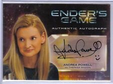 Andrea Powell as Theresa Wiggin 2014 Cryptozoic Ender's Game Autograph Auto #A7