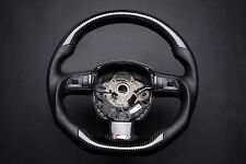 Audi A4 S4 RS4 A5 A6 S6 A8 Q7 S Line carbon steering wheel with paddle shifter