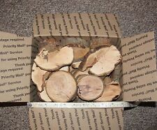 Apple Wood Slices Pieces for Smoking Grilling BBQ Free Priority Shipping