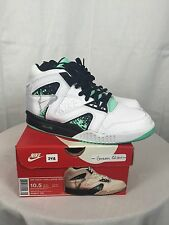 """NEW! Men's Nike Air Tech Challenge Hybrid """"Green Glow"""" Size 10.5 With Box"""