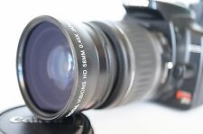 Macro Wide Angle Lens for Canon Eos Digital Rebel $ T2i sl1 XTi w/18-55 IS III