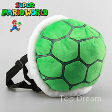 Super Mario Bros. Plush Koopa Troopa Turtle Boys Girls ShoulderBag Backpack Toy