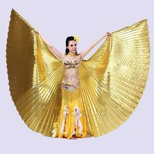 NEW Professional Belly Dance Costume Isis Wings (No Stick) 12 colors Fancy wings