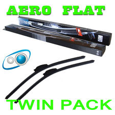 24/21 Aero Flat Windscreen Wipers Blades Washer System Vauxhall Vivaro 01+