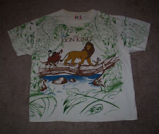 THE LION KING SIMBA T SHIRT VINTAGE DISNEY DESIGNS EXCLUSIVE ONE SIZE FITS ALL