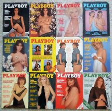 PLAYBOY IT Lotto Lot full year 1976 Bourboulon Eva Janet Agren Teresa Ann Savoy