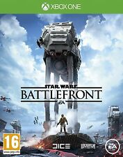 Star Wars: Battlefront (Xbox One) Action adventure Sci Fi Pal NEW!