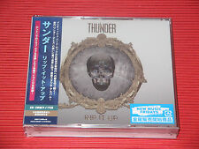 2017 THUNDER Rip It Up with 2 LIVE CD  JAPAN 3 CD SET