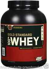 NEW OPTIMUM NUTRITION 100% WHEY GOLD STANDARD CHOCOLATE MALT 5 lb 2.273g