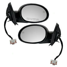 New Pair Set Power Side View Mirror Assembly Heated  00-01 Dodge Plymouth Neon