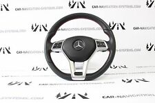 Mercedes MB C class W204 facelift AMG steering wheel