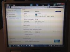 PANASONIC CF-30 TOUGHBOOK 1.6GHZ LAPTOP RUGGED TOUGH BOOK 320GB 4GB WIN 7 TOUCH.