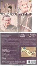 CD--DEBEN BHATTACHARYA -- -- THE MUSIC OF UZBEKISTAN