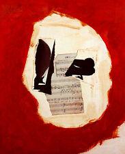 Robert Motherwell Untitled 1986 carteles son impresiones artísticas imagen 68x56cm-sin gastos de envío