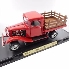 1934 Ford Pick Up Red by Road Signature 1:18 Die Cast Model Truck