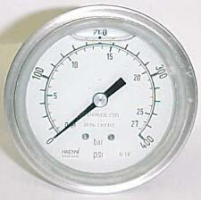 """Haenni 400 PSI 2-1/2"""" Stainless Steel Pressure Gauge"""