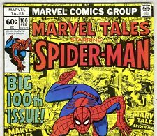 The Amazing Spider-Man #123 reprinted in MARVEL TALES #100 Feb. 1979 in VG/F