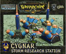 ++NEW Privateer Press Warmachine painted terrain Cygnar Research Station GF9 OOP