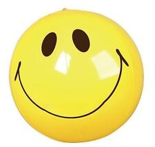 "24 SMILEY FACE BEACH BALLS 16"" Pool Party Beachball NEW #SR45 Free Shipping"