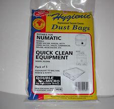 NUMATIC HENRY VACUUM CLEANER DUST BAGS 5 bags
