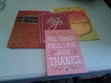 Misc. lot of Thanksgiving greeting cards