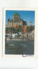 BF27182 quebec canada le chateau frontenac l edifice price   front/back image