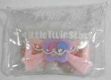 VINTAGE SANRIO LITTLE TWIN STARS PINK HAIR PIN HAIRPIN BARRETTE W/CASE JAPAN