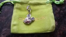 Authentic Chamilia Disney Classic Mickey Mouse - Enamel & Black Spinel Charm