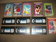 RARE  6 x BRAND NEW FACTORY SEALED CHILDRENS CLASSIC VHS VIDEOS READERS DIGEST