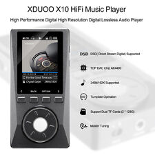 "XDUOO X10 Pro HIFI Lossless Music MP3 Player 2"" HD Screen Support 256GB SD Card"