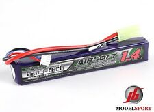 Nano-tech 1400mAh 2 cella AIRSOFT LIPO BATTERY PACK, 7.4 V 15 - 25 c