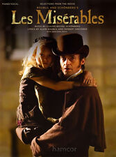 Les Miserables Selections from the Movie Piano Vocal Guitar Sheet Music Book PVG