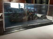 Eaglemoss  Batman Begins  Movie Automobilia Diecast Car w/Magazine Tumbler