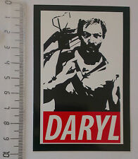 *** The Walking Dead  Sticker - Daryl Dixon - Fear - Zombie Sticker ***