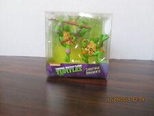 TMNT Teenage Mutant Ninja Turtles Plastic Ornaments 2014 new Xmas 2 Turtles