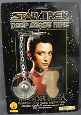 STAR TREK DEEP SPACE NINE MAJOR KIRA BAJORAN EARRING & NOSE BRIDGE SET
