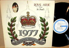 "GUILD UK ""1977 Queen's Silver Jubilee"" ROYAL MUSIC from ST. PAUL'S GRSP-7010"