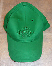 embroidered ball cap hat advertising Corona Beer