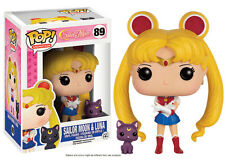 FIGURE SAILOR MOON & LUNA E 9 CM PRETTY GUARDIAN POP FUNKO VINYL ANIME MANGA #1