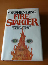 "Stephen King  "" Fire-Starter ""   Signed First Edition"