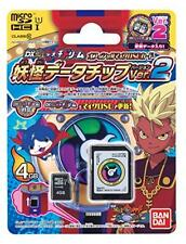 Pre Yokai watch Medal Dream Official Micro SD card Data chip ver.2 Japan