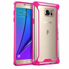 Poetic Affinity Thin/Clear Protective Bumper Case for Samsung Galaxy Note 5 Pink