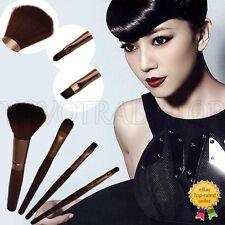 Nouveau Luxe 4Pcs Pro Maquillage Brosses Set Base Blush Sourcil Pinceaux
