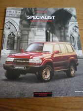 TOYOTA PREVIA & LANDCRUISER CAR BROCHURE, EDITION 2 jm