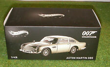 HOT WHEELS ELITE 1:43 SCALE JAMES BOND'S 007 ASTON MARTIN DB5 from GOLDFINGER