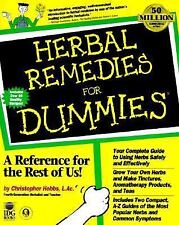 Herbal Remedies For Dummies by Christopher Hobbs (19...