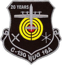 USAF 29th WEAPONS SQUADRON C-130 CLASS 2016A WEAPONS UNDERGRADUATE STUDENT PATCH