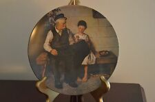 "Knowles Norman Rockwell ""THE LIGHTHOUSE KEEPER'S DAUGHTER"" Collector Plate 1979"