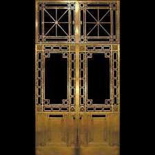 Bronze Entry Doors with Transom #509